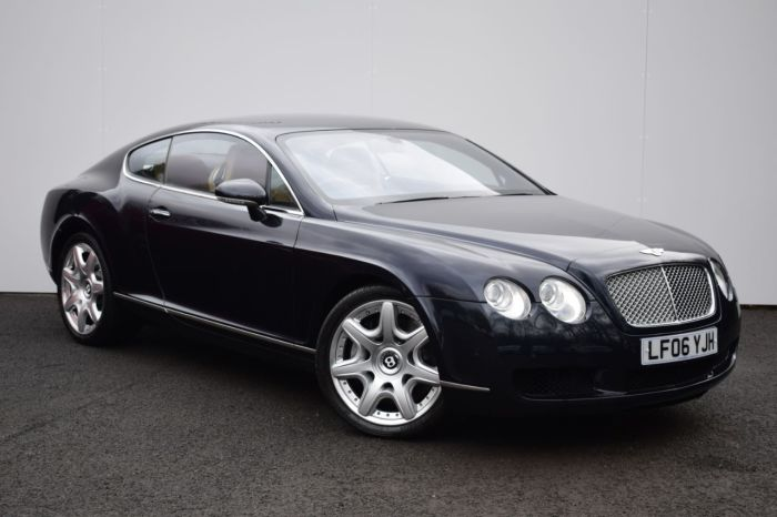 Bentley Continental GT 6.0 W12 2dr Auto Coupe Petrol Blue