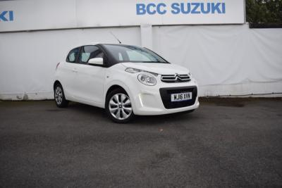 Citroen C1 1.0 VTi Feel 3dr Hatchback Petrol WhiteCitroen C1 1.0 VTi Feel 3dr Hatchback Petrol White at BCC Cars Blackburn