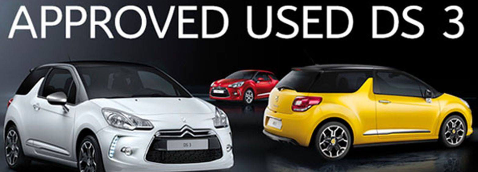 Citroën Select Approved Used DS 3 Event