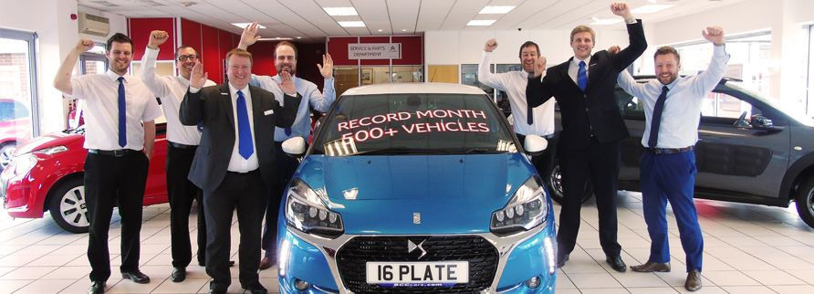 Record Month for BCC Citroen