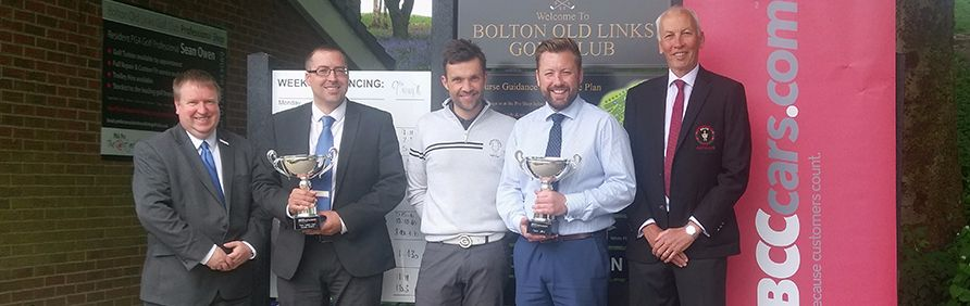 Trophy Presentations at Bolton Old Links Golf Club