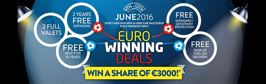 Euro Winning Deals - Win a share of €3,000*!
