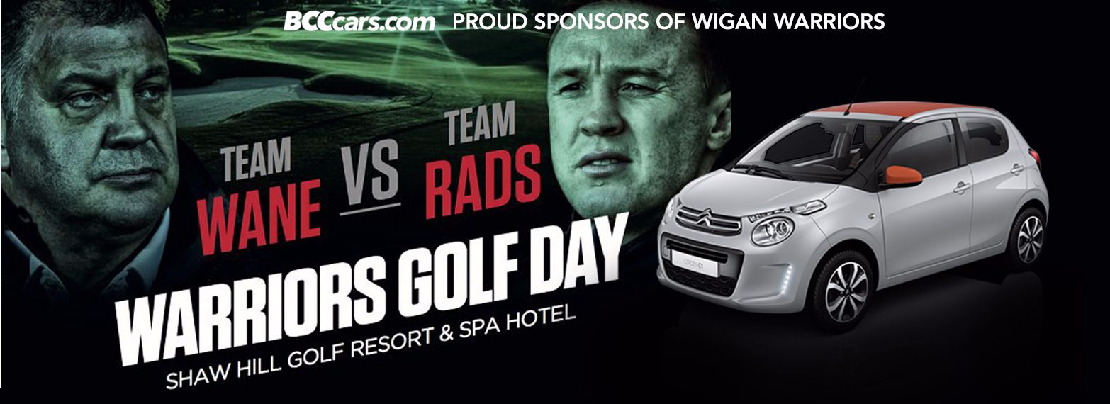 Win a C1 at Wigan Warriors' Golf Day