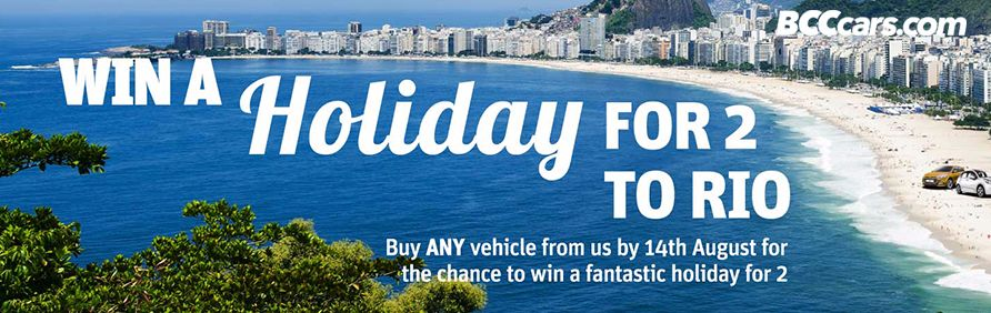 Win a Holiday for two to Rio Brazil