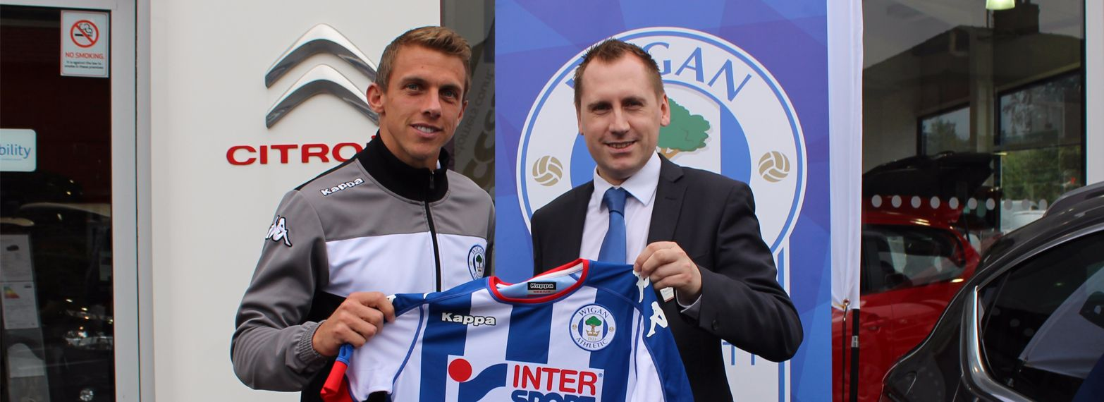 Proud sponsors of Wigan Athletic
