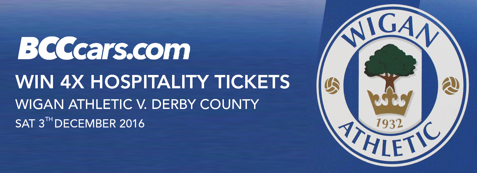 Win 4x Wigan Athletic Hospitality Tickets