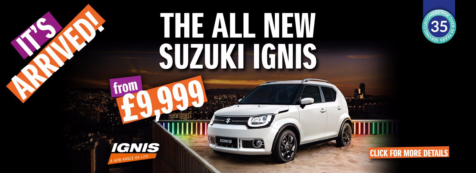 Come and see the all-new Suzuki Ignis!