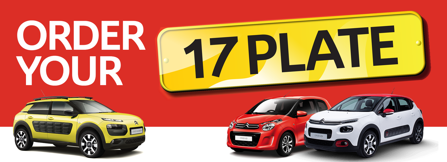 Order your new 17 plate today!