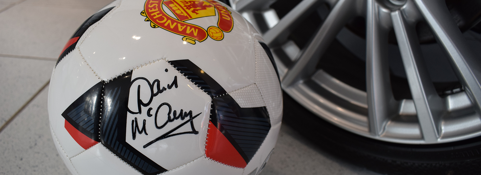 Win a signed Manchester United Football!