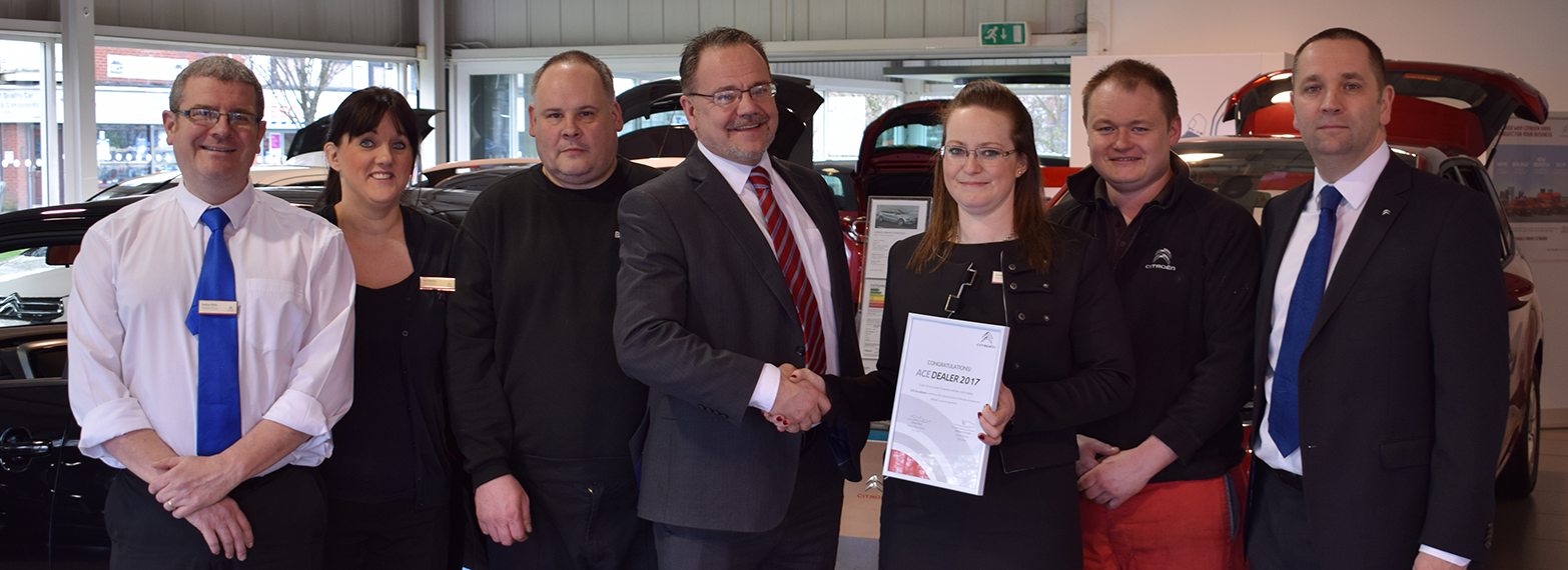 BCC Citroen Blackburn Pass Ace Accreditation