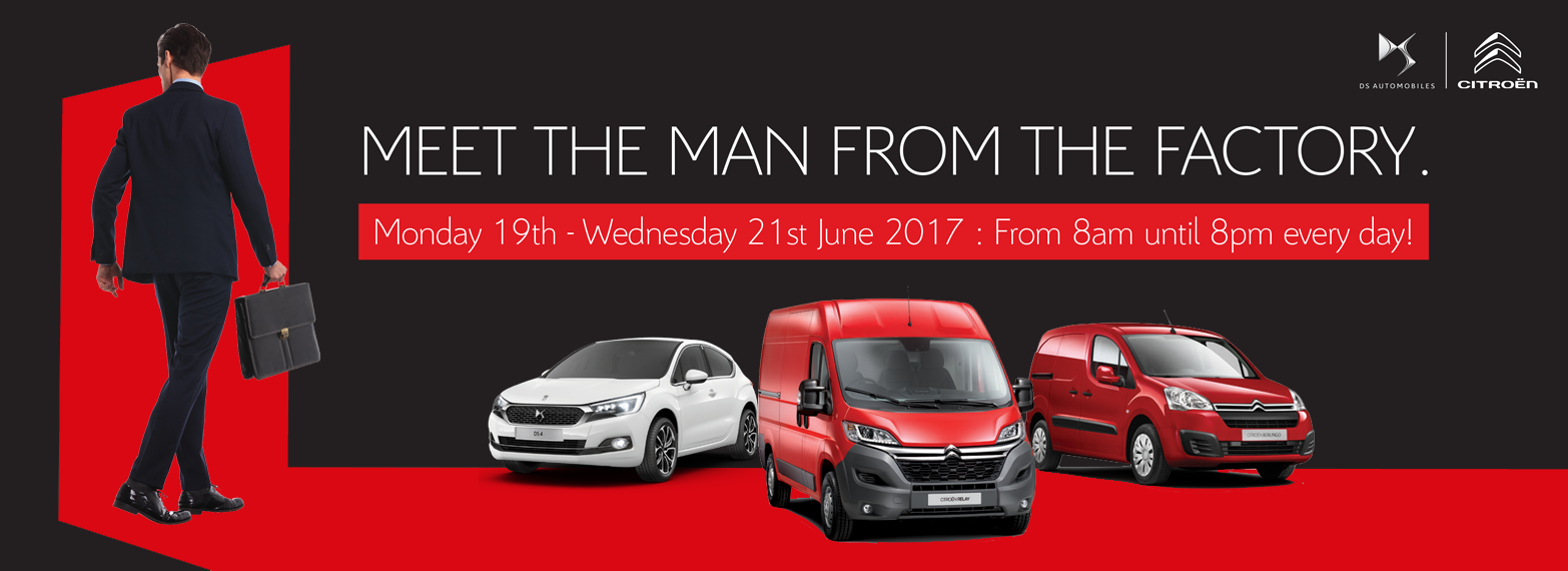 Man From The Factory 19th - 21st June 2017