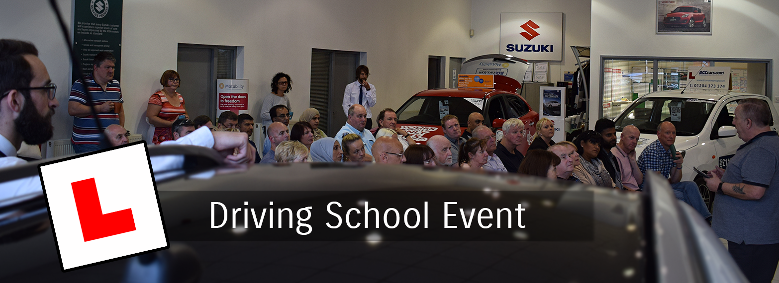 Driving School Event 3rd July 2017