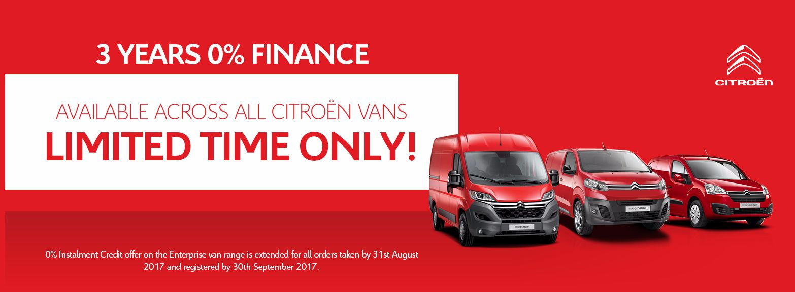 3 years' 0% finance at BCC Citroen