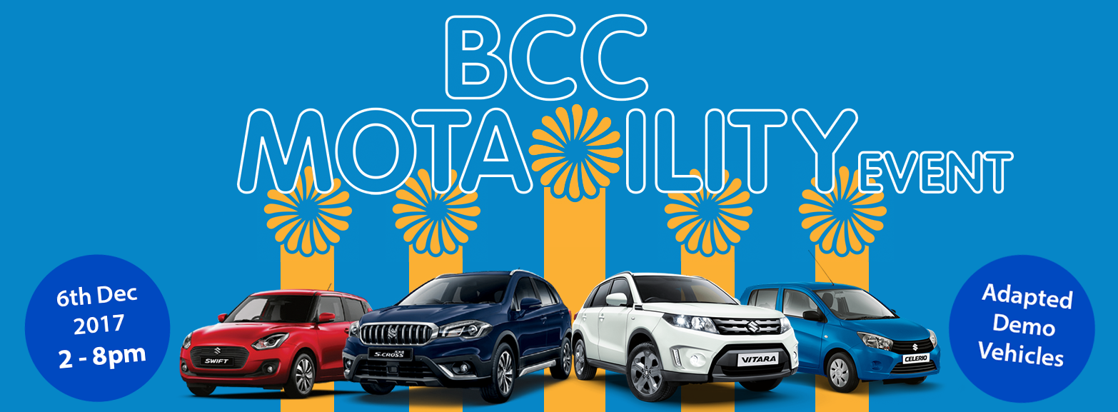 BCC Motability Event | 6th December 2017