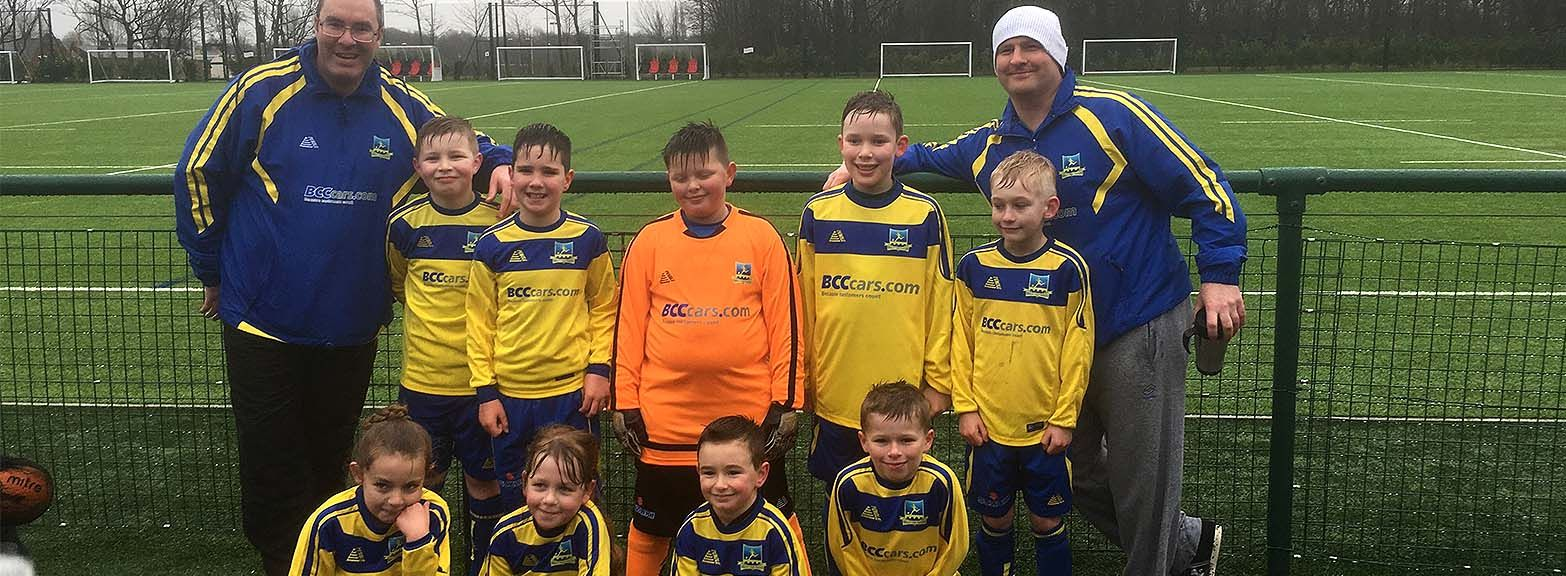 Proud sponsors of Ringley Park Rangers U9's