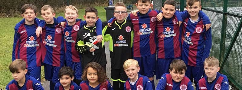 Proud sponsors of Breightmet United U11's