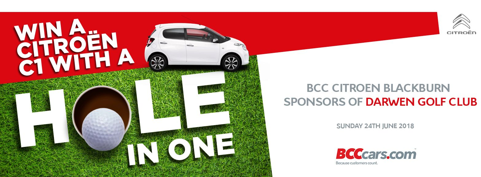 Win a brand-new C1 with a hole in one!