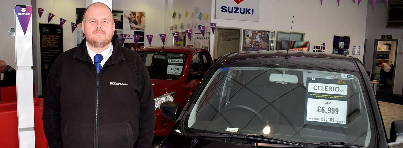 Congratulations to Mark Bickerstaffe on winning the Suzuki Saint award