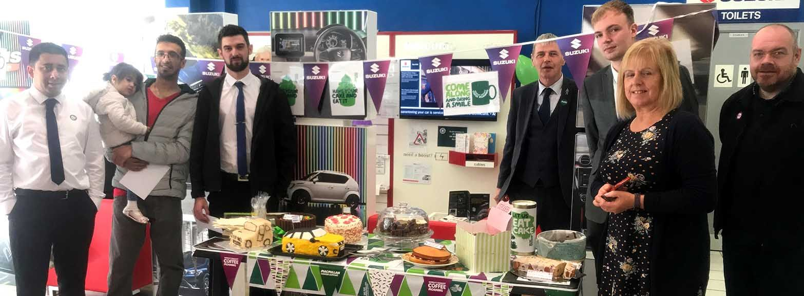 Macmillan Coffee Morning at BCC Suzuki Blackburn