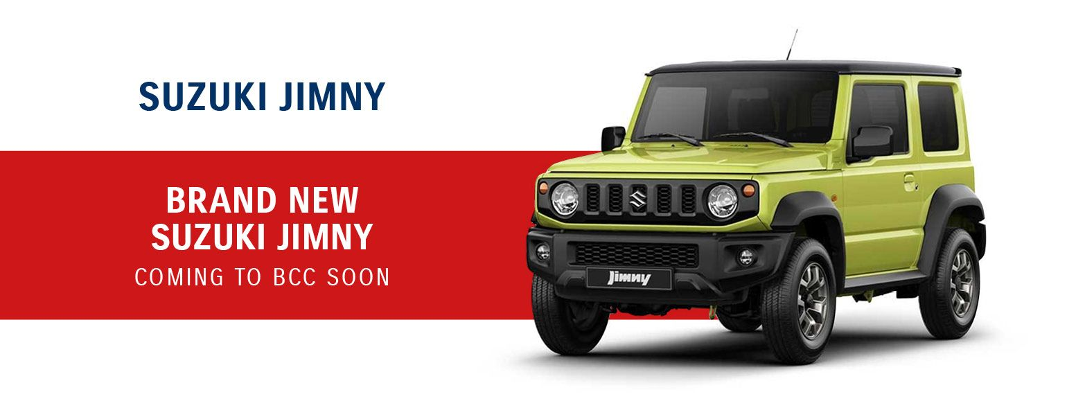 Brand New Suzuki Jimny Coming Soon to BCC Suzuki
