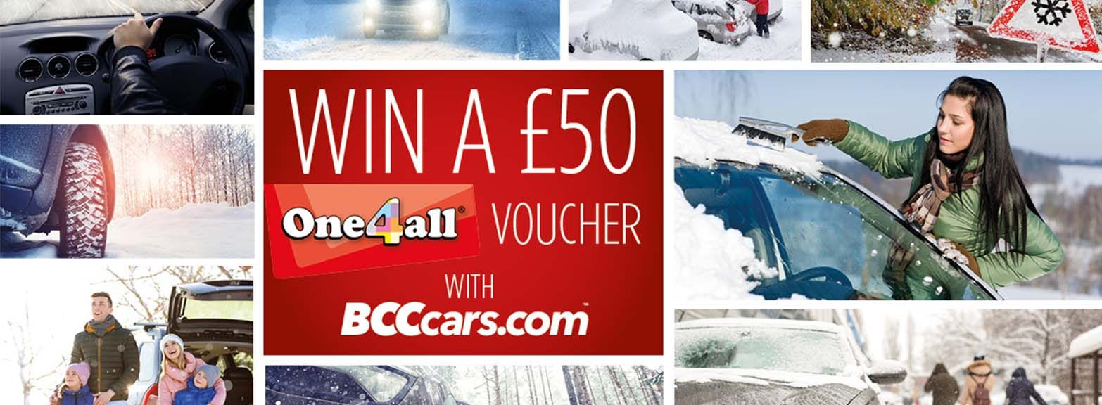 WIN A £50 VOUCHER FOR CHRISTMAS!