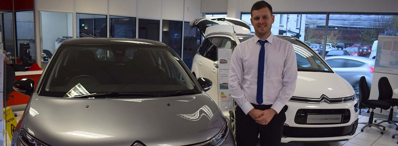 Congratulations to Danny Belch on winning the National Citroen Lets Go competition
