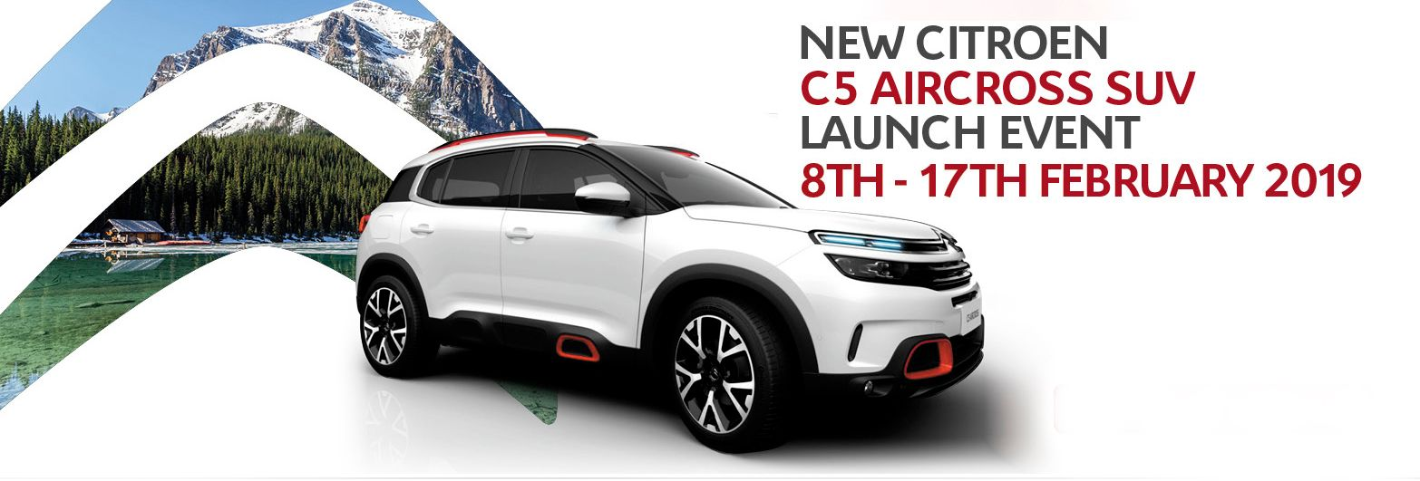 C5 Aircross Launch at BCC Cars