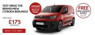 Test Drive the Brand-New Citroen Berlingo