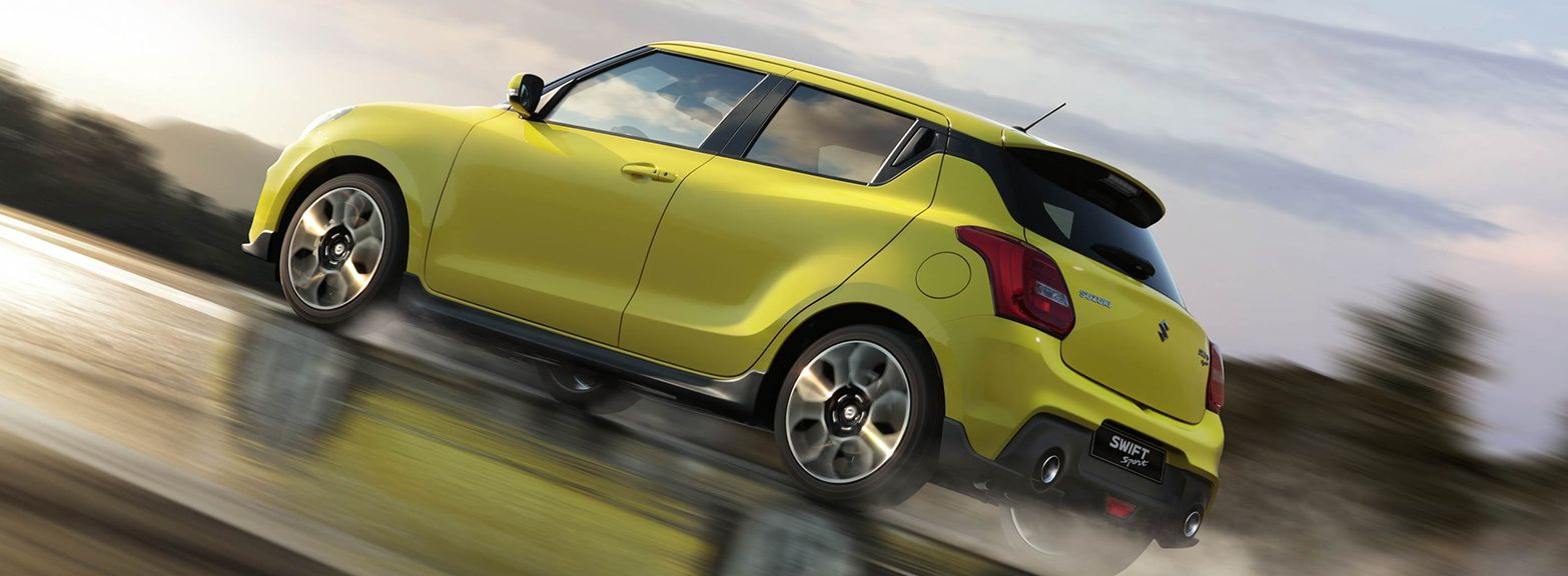 Introducing the new Suzuki Swift Sport