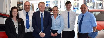 New Management and Sales Team at BCC Hyundai Bury