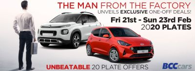 Unbeatable 20-Plate Citroen and Hyundai Offers