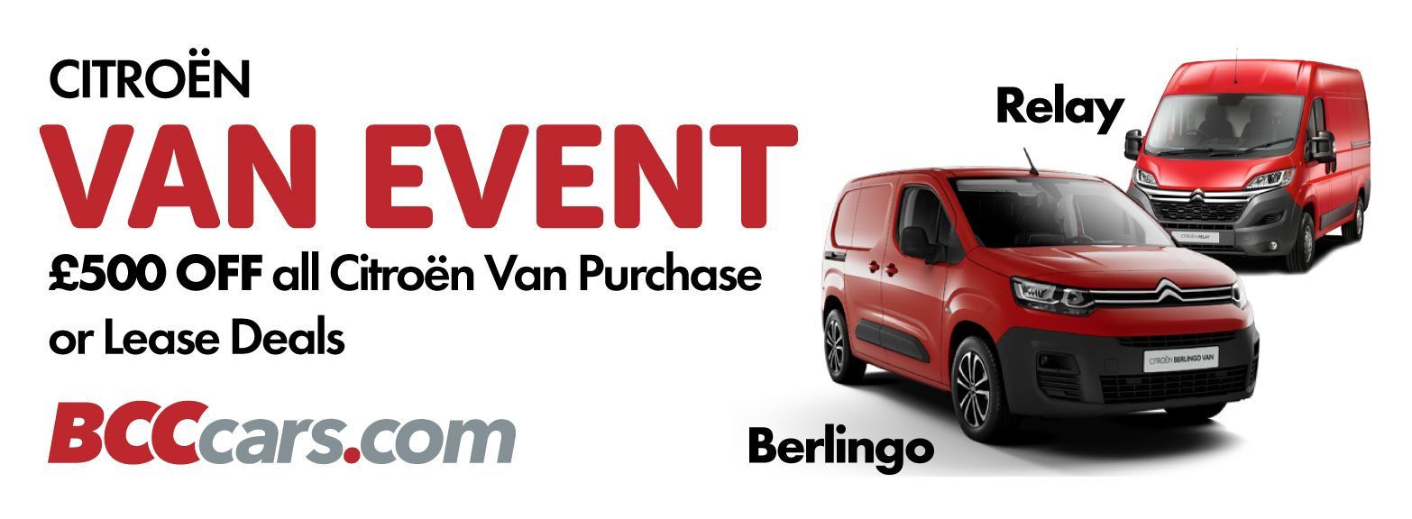 £500 Off All Citroen Van Purchase and Lease Offers