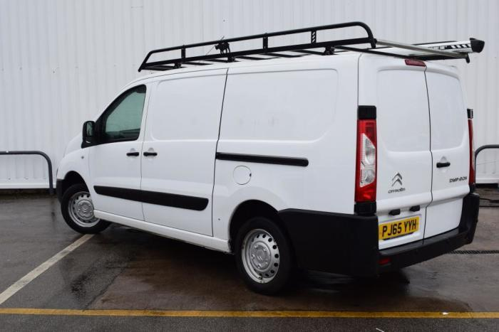 Citroen Dispatch 1200 2.0 HDi 125 H1 Van Enterprise Van Diesel White