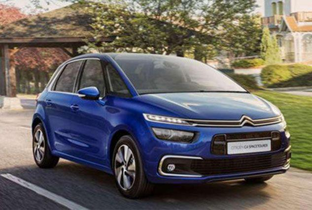 New CITROEN C4 SPACETOURER ESTATE at BCC Cars