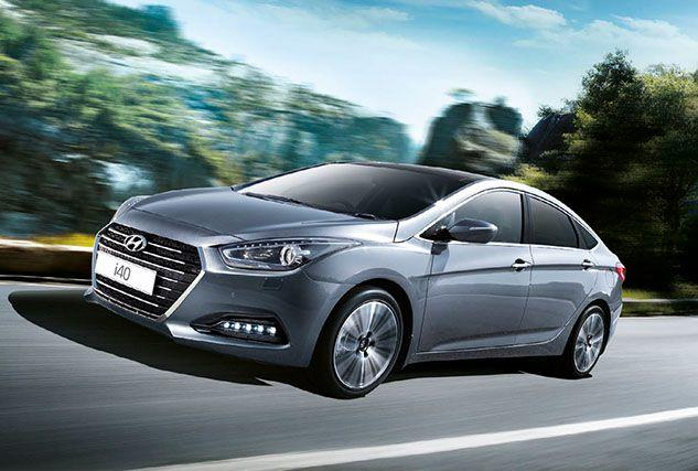 New HYUNDAI I40 SALOON at BCC Cars