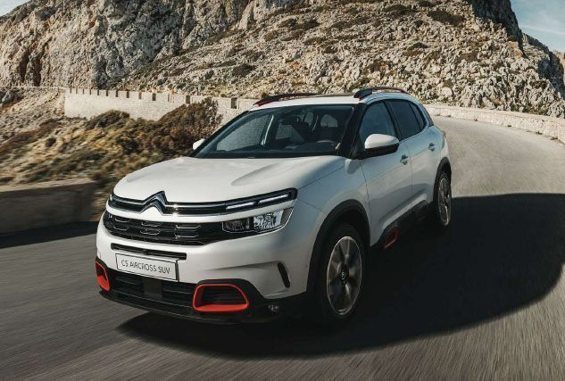 New CITROEN C5 AIRCROSS DIESEL HATCHBACK at BCC Cars