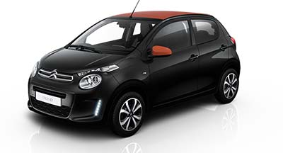 Citroen C1 - Available In Caldera Black Metallic