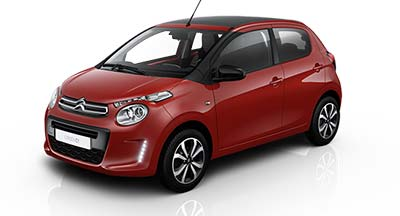 Citroen C1 - Available In Scarlet Red
