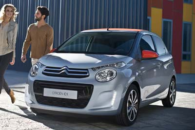 "Citroen C1 - 7"" Touchscreen"