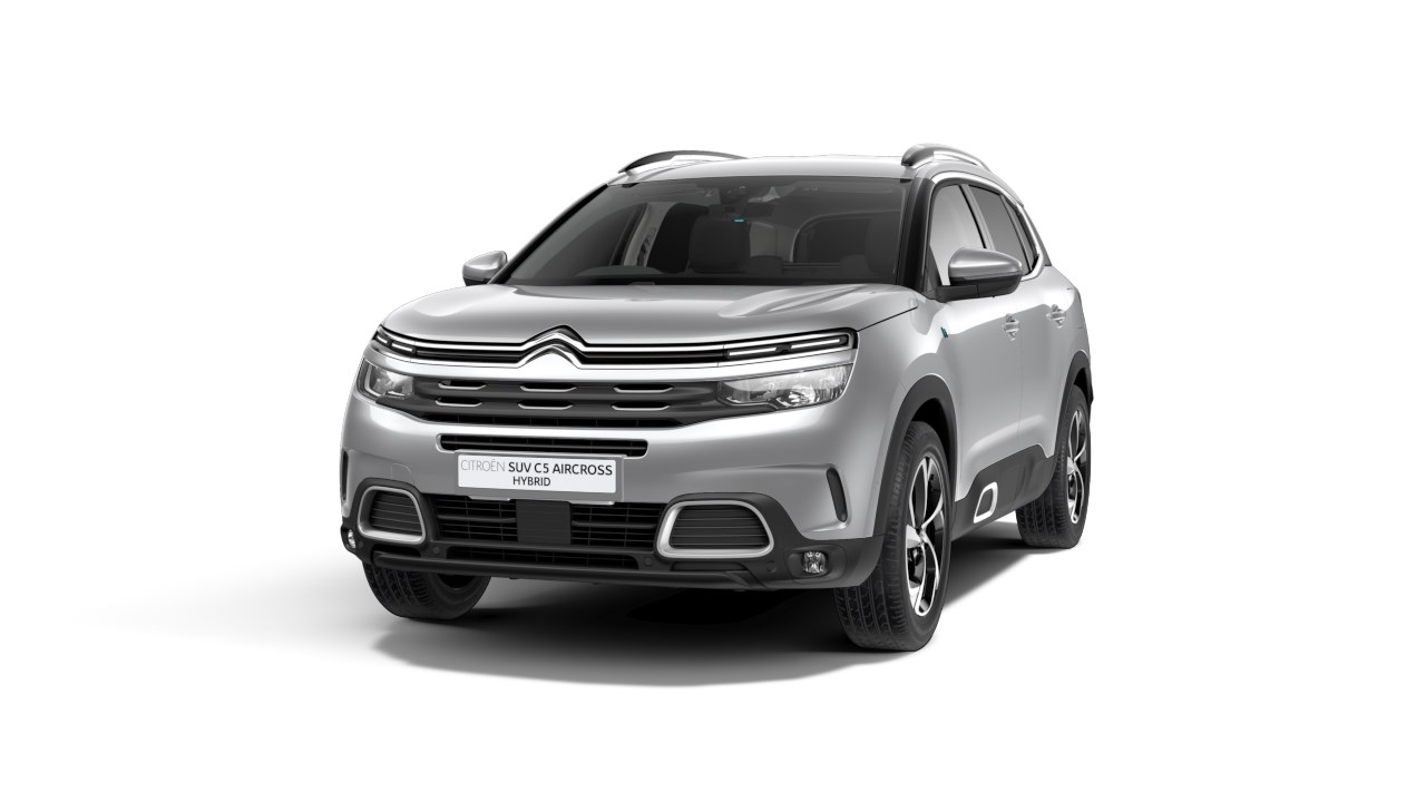 Citroen C5 Aircross Hybrid - Available In Cumulus Grey Metallic