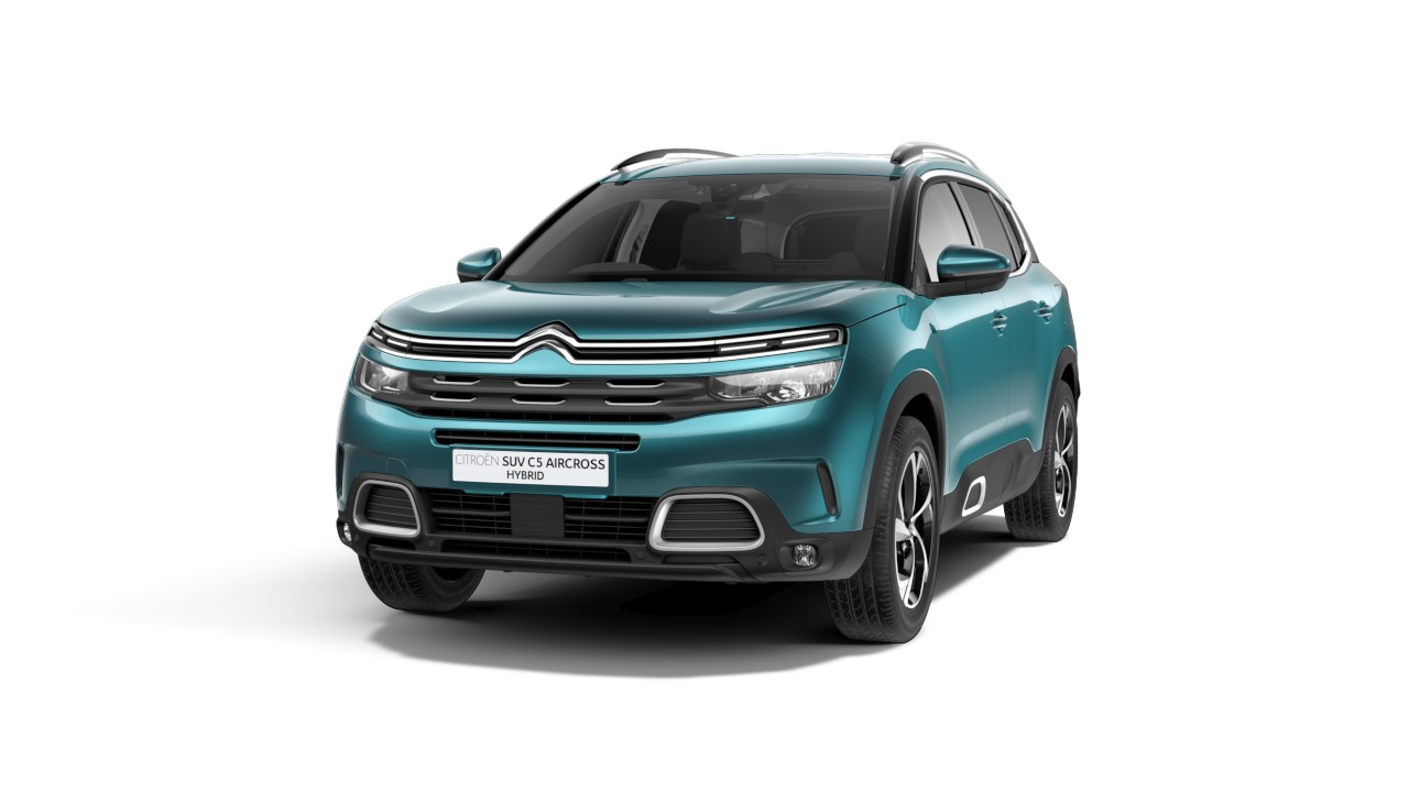 Citroen C5 Aircross Hybrid - Available In Tijuca Blue Metallic