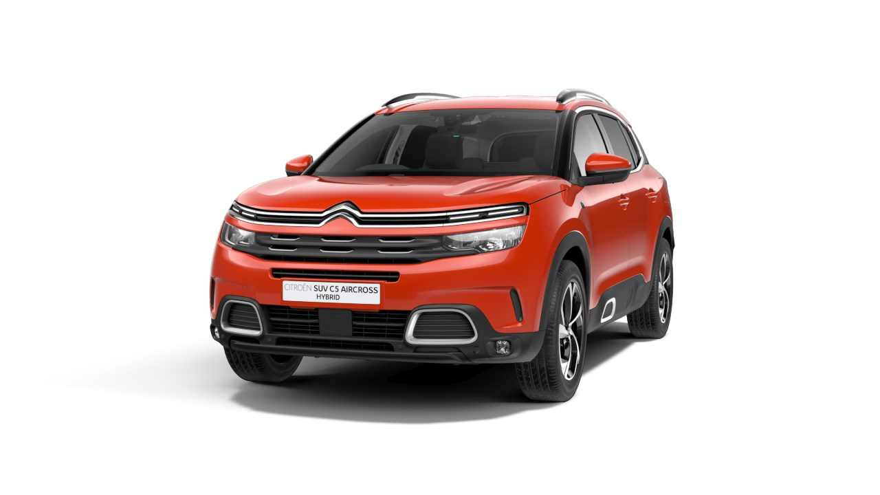 Citroen C5 Aircross Hybrid - Available In Volcano Red Metallic