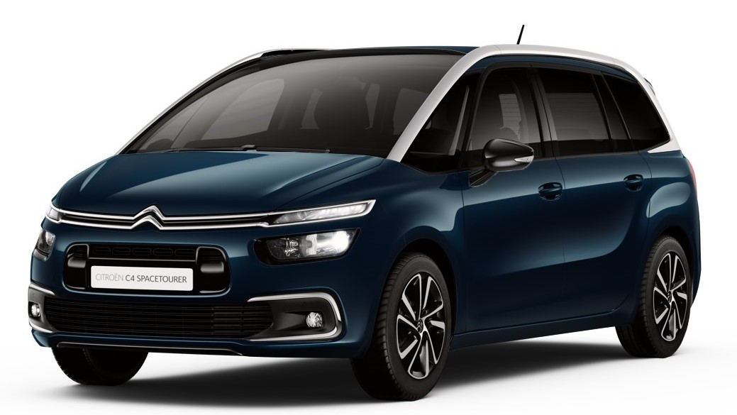 Citroen Grand C4 Spacetourer - Available In Lazuu Blue