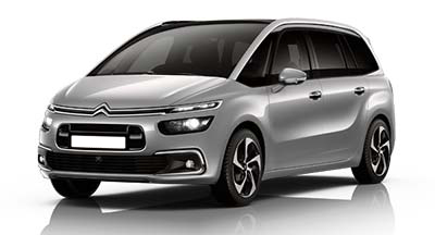 Citroen Grand C4 Spacetourer - Available In Cumulus Grey