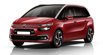 Citroen Grand C4 Spacetourer - Available In Ruby Red