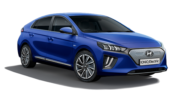 Hyundai Ioniq Electric - Available In Intense Blue
