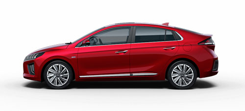 Hyundai Ioniq Electric - Available In Fiery Red