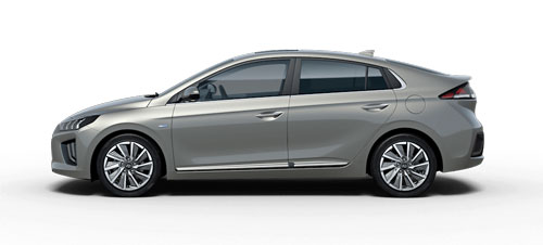 Hyundai Ioniq Electric - Available In Fluidic Metal