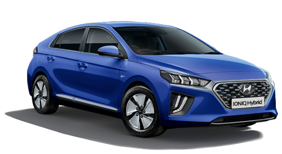 Hyundai Ioniq Hybrid - Available In Intense Blue