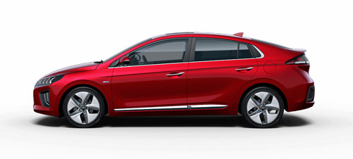 Hyundai Ioniq Hybrid - Available In Fiery Red